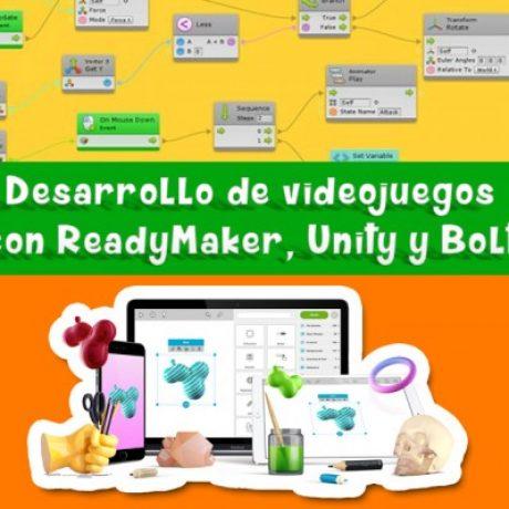 Logo del grupo Readymaker, Unity y Bolt